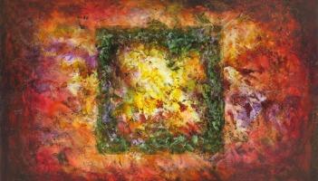 Illusions, fresco painting