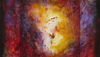 "Pieces"", fresco painting"
