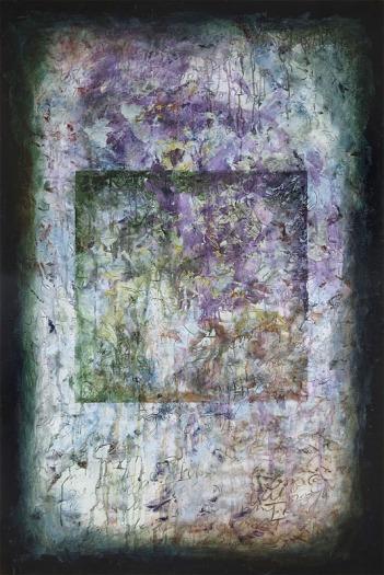 Holes, fresco painting