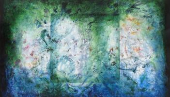 Reset, fresco painting