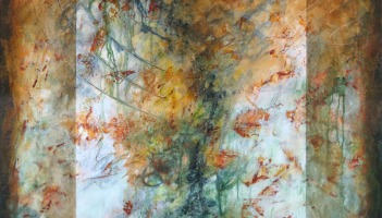 Flux, fresco painting