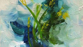 Wildflower Path I by Marsh Scott