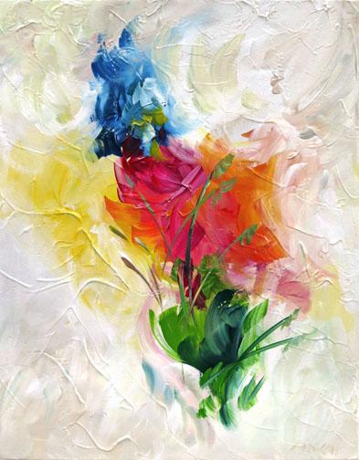 Sun Splashed painting