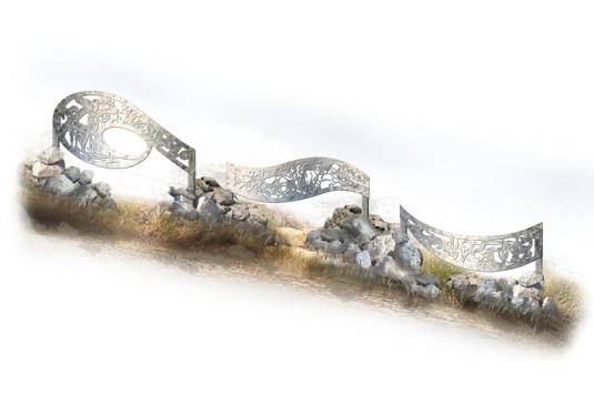 Wild Desert Majesty, rendering